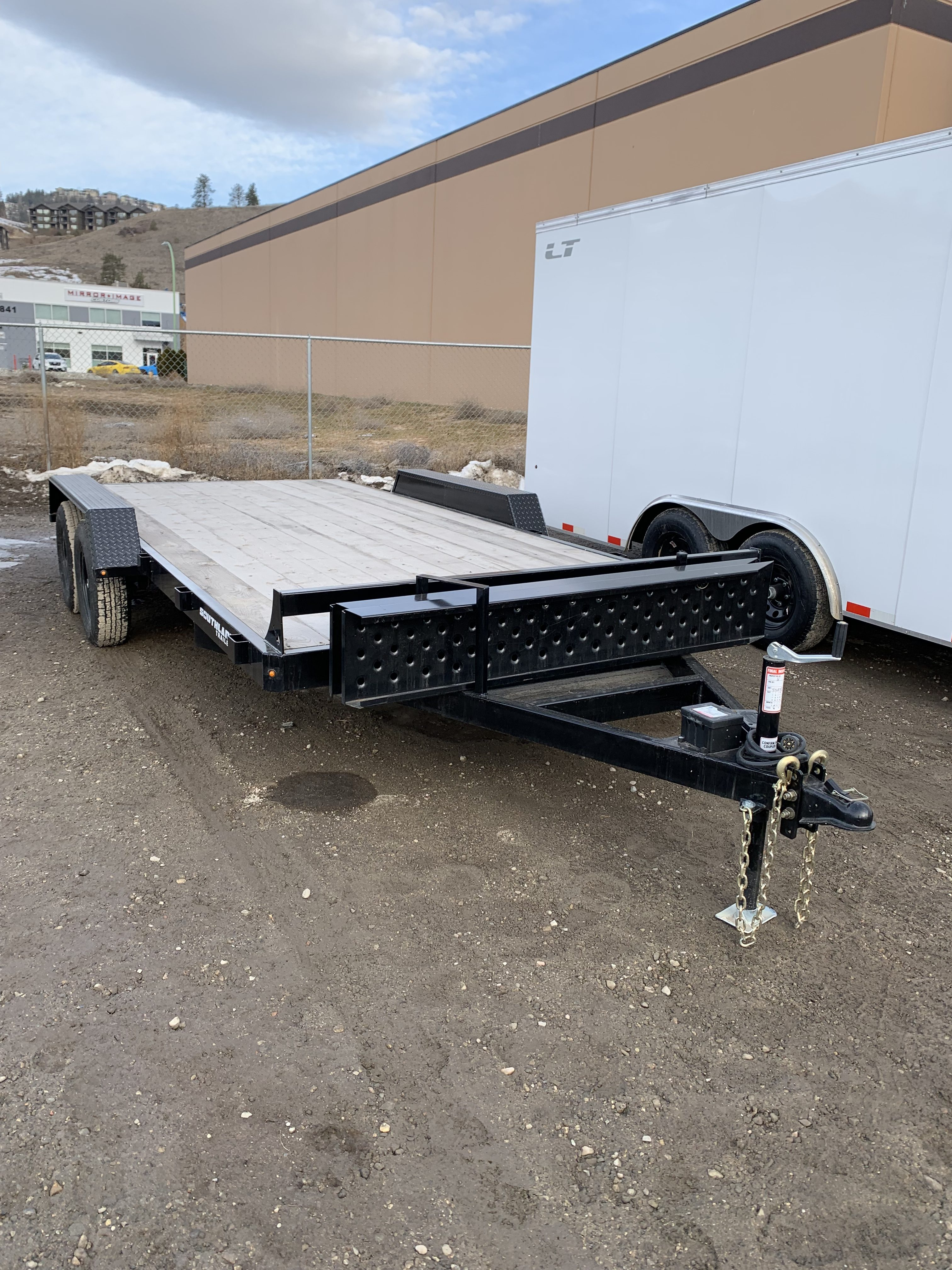Flat Deck Trailer >> Southland 16 Ft Flat Deck Workfleets Trailers For Sale